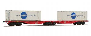 ACME 40354 DB Intermodal twin set, 'Schmidt Group' containers, Era V/VI - REDUCED